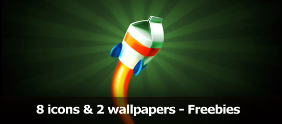 10 Awesome Icons and wallpapers from turbomilk