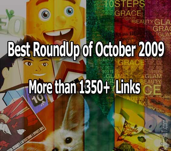 Best RoundUp of October2009-1350+ links