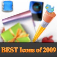 100+ Most Popular Icon packs of 2009
