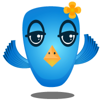 Big Tweety | Vector Freebie