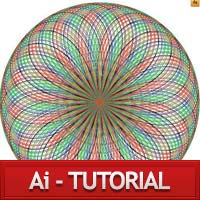 Create circular pattern using stroke in IllustratorCS4 part-I