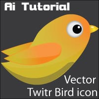 Create Vector Twitter bird in 5 steps