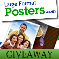 Giveaway: Rolled canvas from Large Format Posters