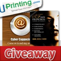 Window Cling Giveaway from Uprinting