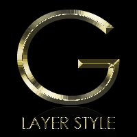 Freebie: Gold and Silver Layer Styles