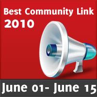 Bookmark: Best Community Links June 2010-part I
