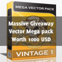 [update]Giveaway: Vector Mega Packs Worth 1000 USD