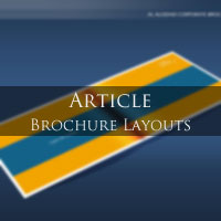 Article: Different types of Brochure Layouts