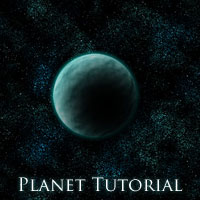Photoshop Tutorial: How to create a planet from scratch