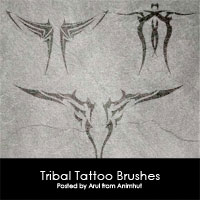 Freebie: Tribal Tattoo brushes