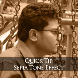 Quick tip: Create Sepia tone in 2 steps