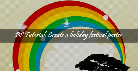 PSD Tutorial : Create a Holiday Festival Poster