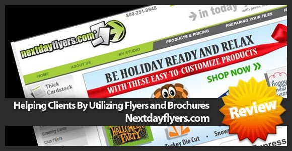 Helping Clients By Utilizing Flyers and Brochures :nextdayflyers
