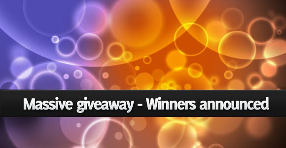 $9000USD worth Massive giveaway Winners announced
