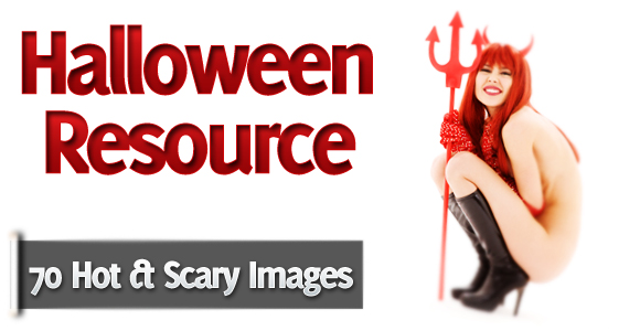 70 Hot and Scary Halloween Premium Stock Images