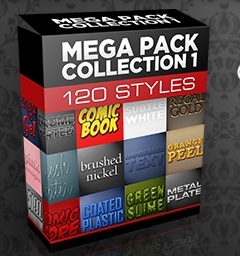 Win Photoshop Styles Massive Multi-Mega Pack worth $700