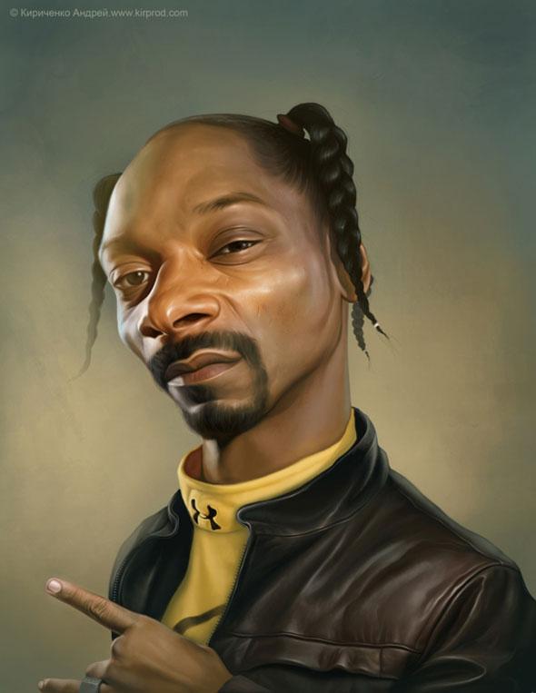 2012 Fresh Caricature on Popular Celebrities