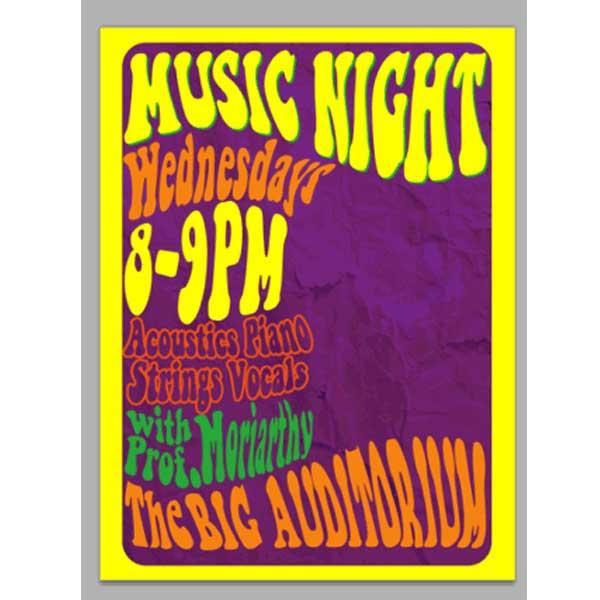 60s Retro Poster Design Tutorial