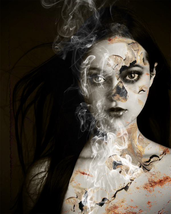 Photoshop smoke-effect tutorial