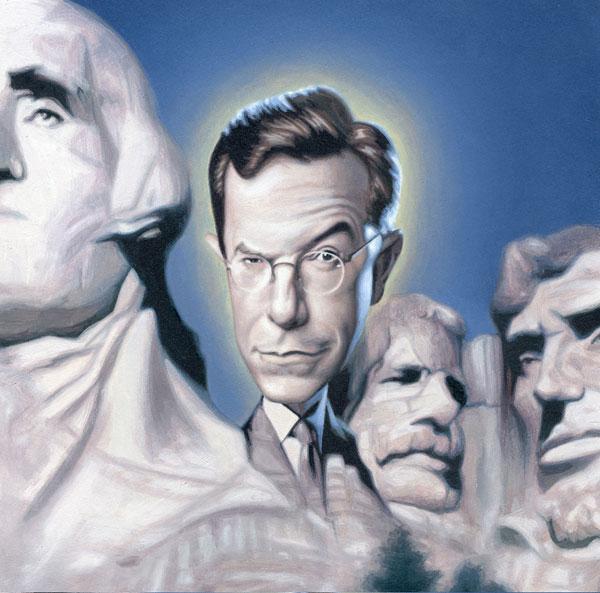Popular caricatures of world leader