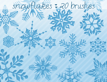 202 Christmas Photoshop Brushes