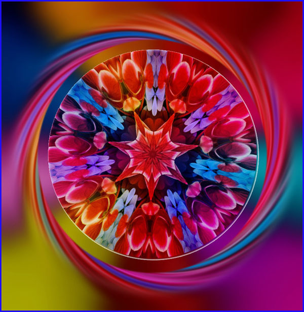 Kaleidoscope Abstract Designs