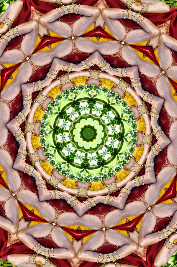 Create Kaleidoscope Art