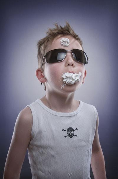 Ice Cream on Children Face (10)