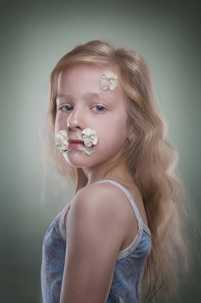 Ice Cream on Children Face (2)