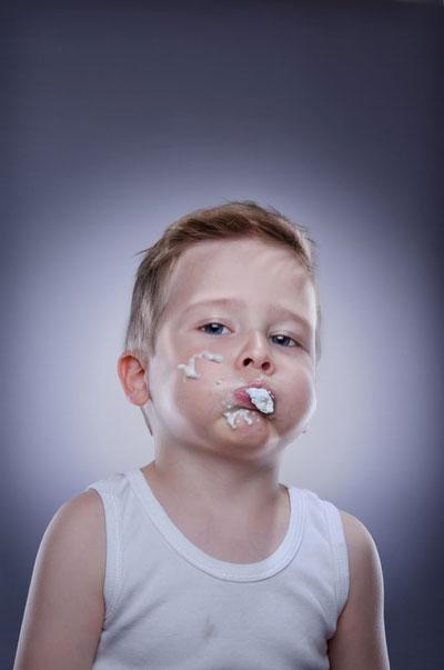 Ice Cream on Children Face (3)