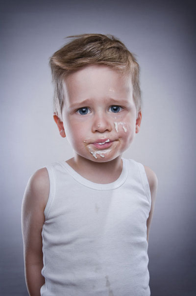 Ice Cream on Children Face (5)