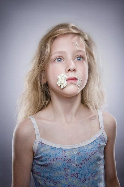 Ice Cream on Children Face (6)