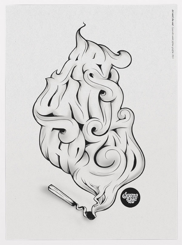 Typography Poster Designs for Inspiration (10)