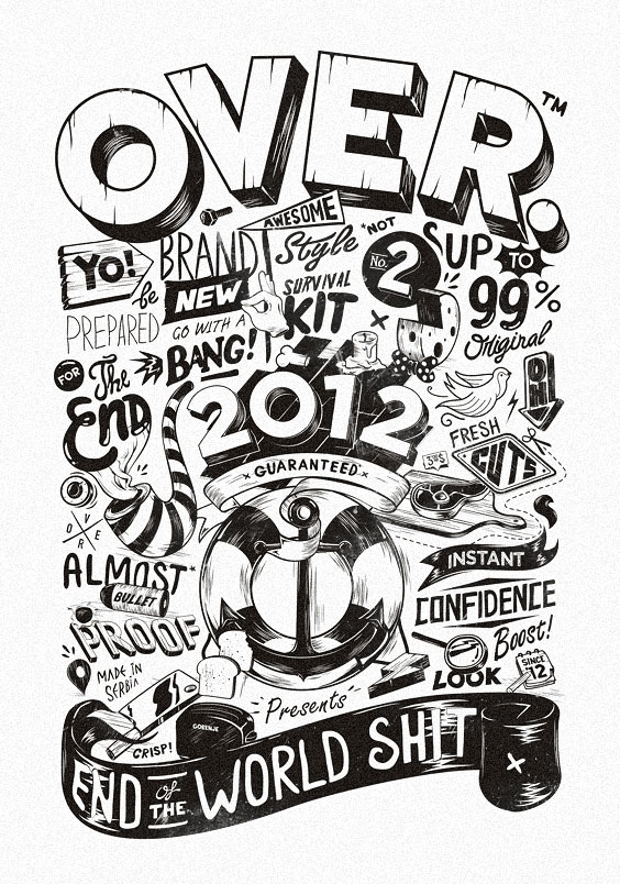 Typography Poster Designs for Inspiration (12)