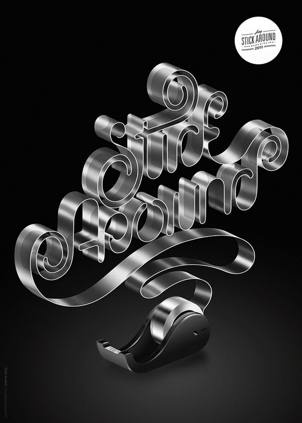 Typography Poster Designs for Inspiration (9)