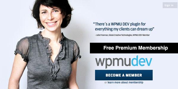 Free One Year Premium Membership from WPMU DEV