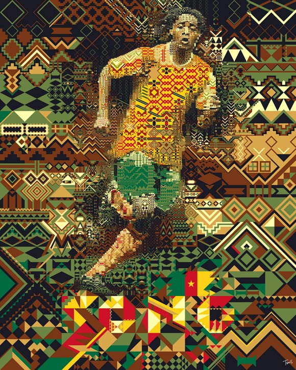 Alex Song Cameroon-2010