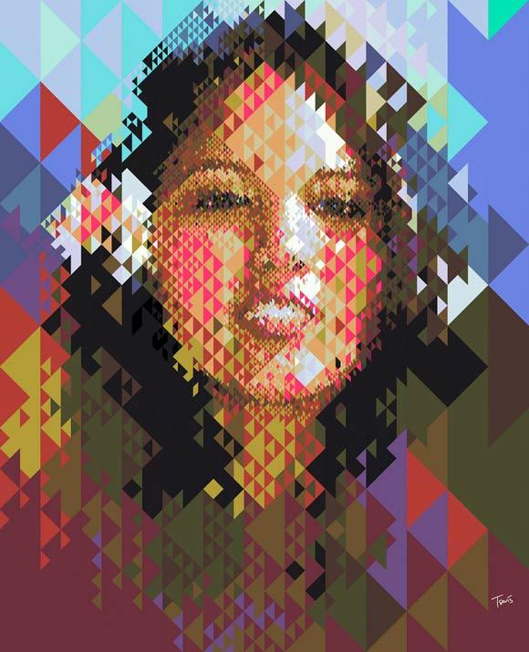 Aloha-Girl--Tiki-triangles