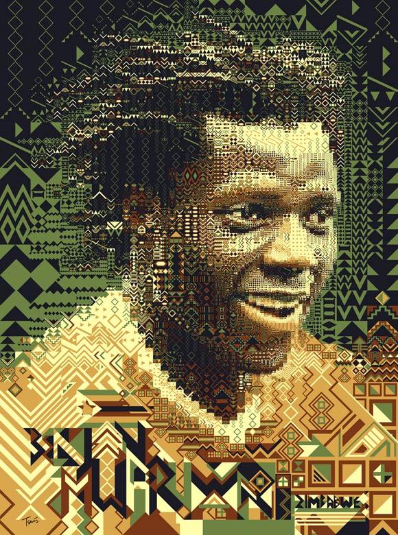 Benjani Mwaruwari-Zimbabwe