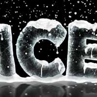 ice text effects