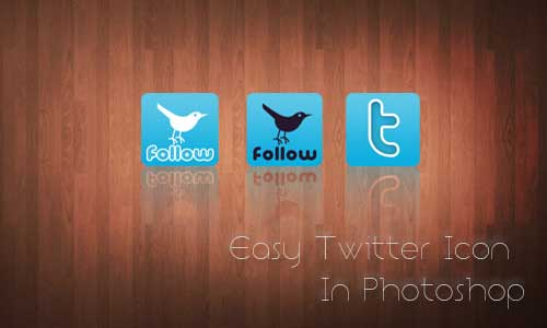 create twitter icon in 6 steps from desizntech.info