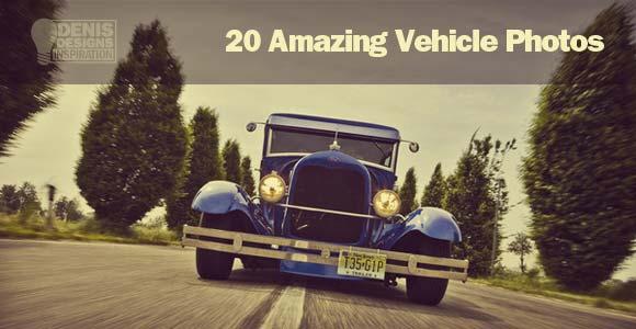 20 amazing vehicle photos