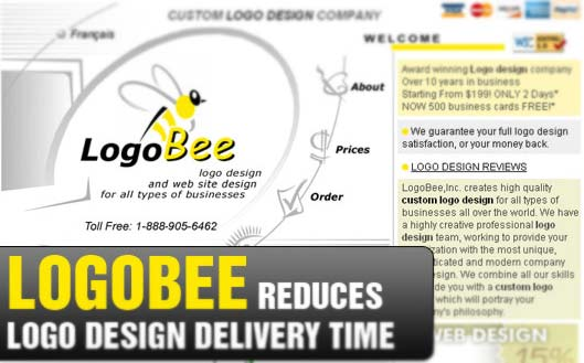 LogoBee Reduces Logo Design Delivery Time