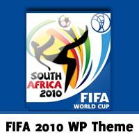 Free FIFA 2010 WordPress Theme