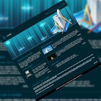 Tutorial: Create a dark professional website