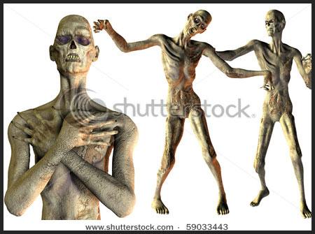 undead zombie halloween