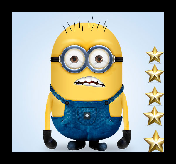 """Create a """"Minion"""" Character From the Despicable Me Movie"""