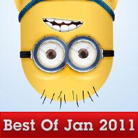 Best Design Round-Up: January 2011