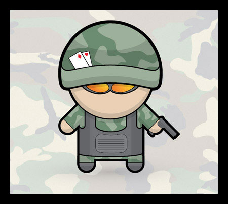 How To Create a Vector Soldier Character in Illustrator