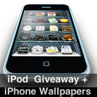 40+ iPhone Texture Wallpapers and iPod Touch Giveaway